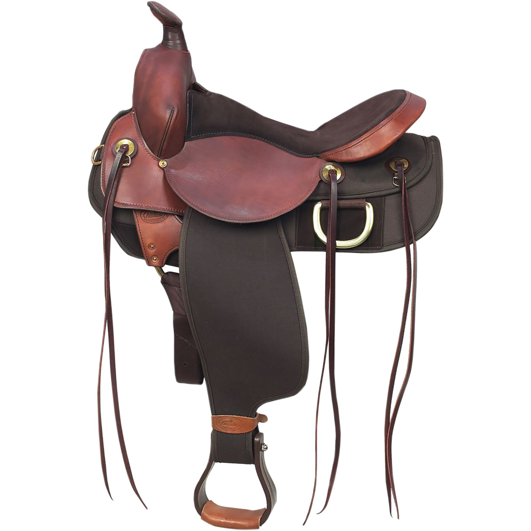 Fabtron Easy Rider Trail Western Saddle