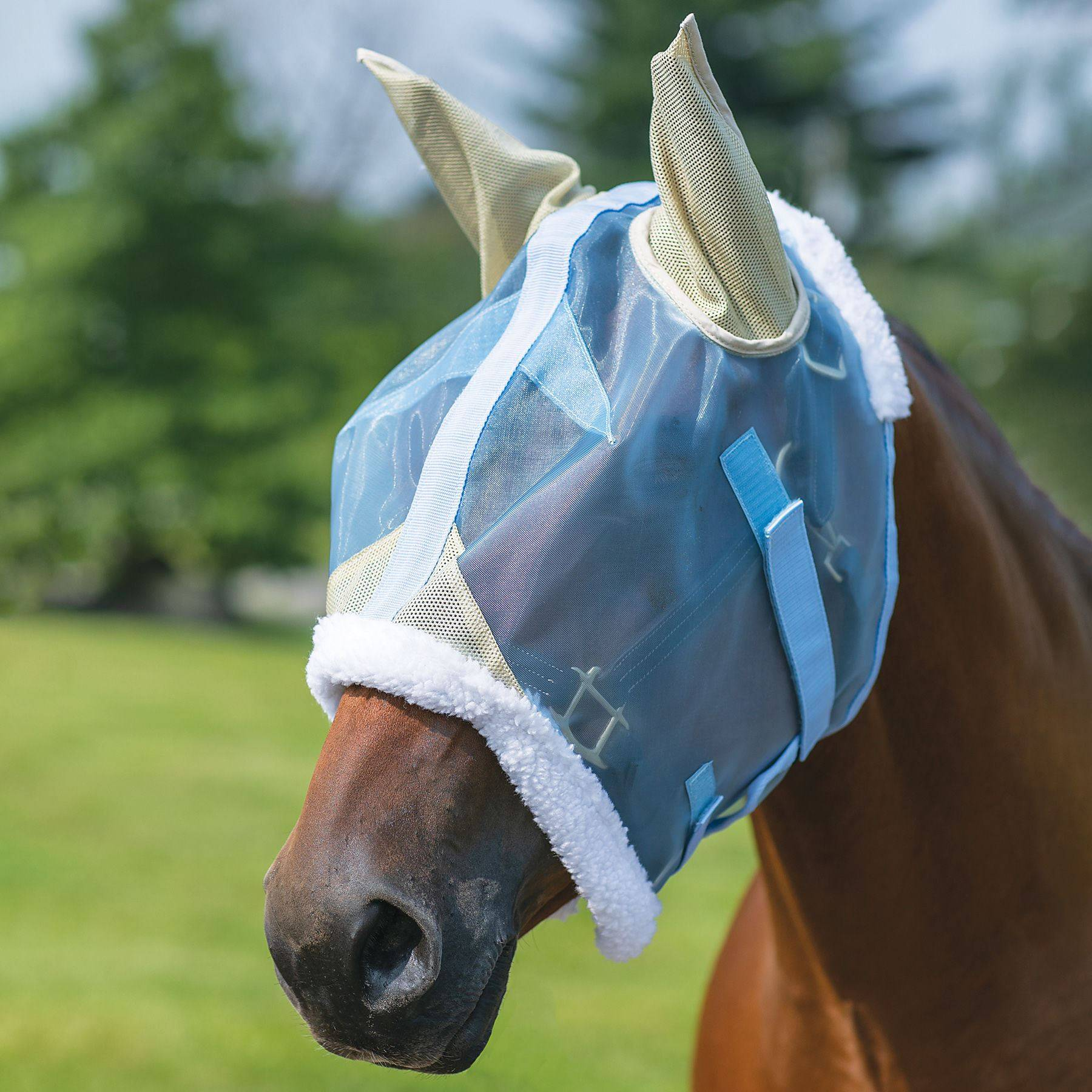 NaturalShield® Hybrid Mesh Fly Mask with Ears