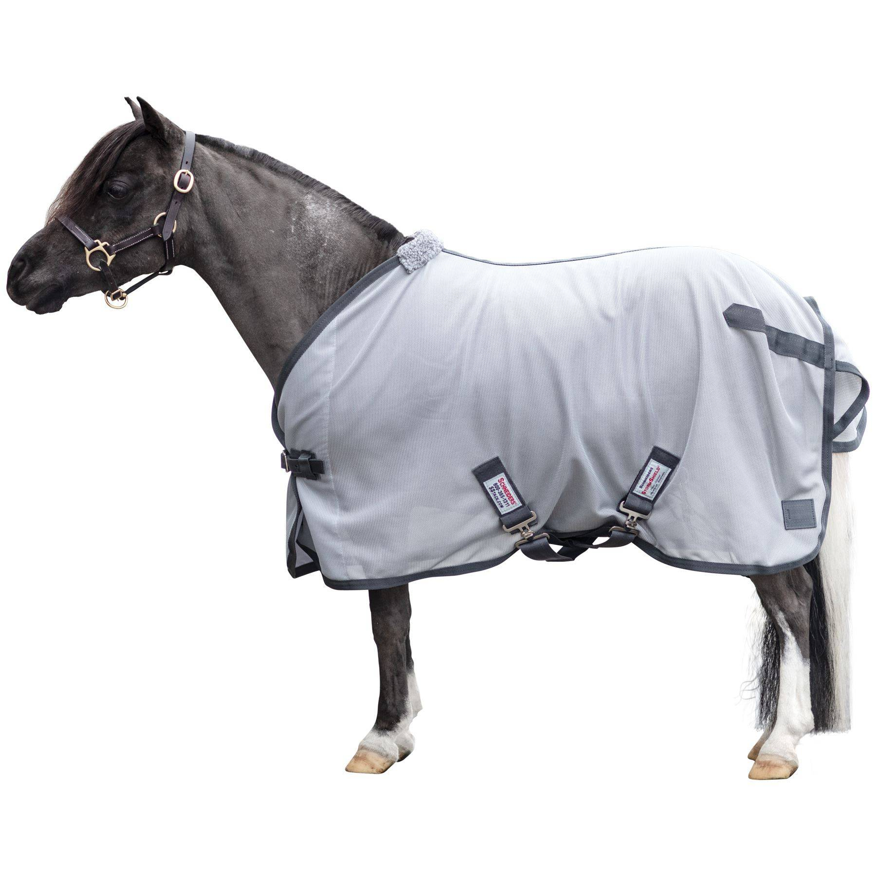 Dura-Tech® Soft Interlock Mesh Miniature Horse Surcingle Fly Sheet