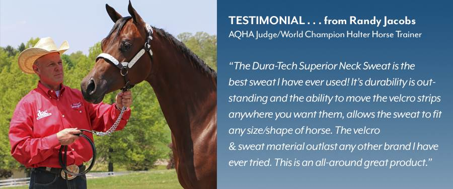 Dura-Tech® Superior Sweat Professional Testimonial