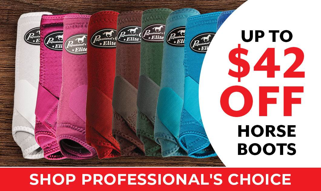 Professionals Choice Boot Promo