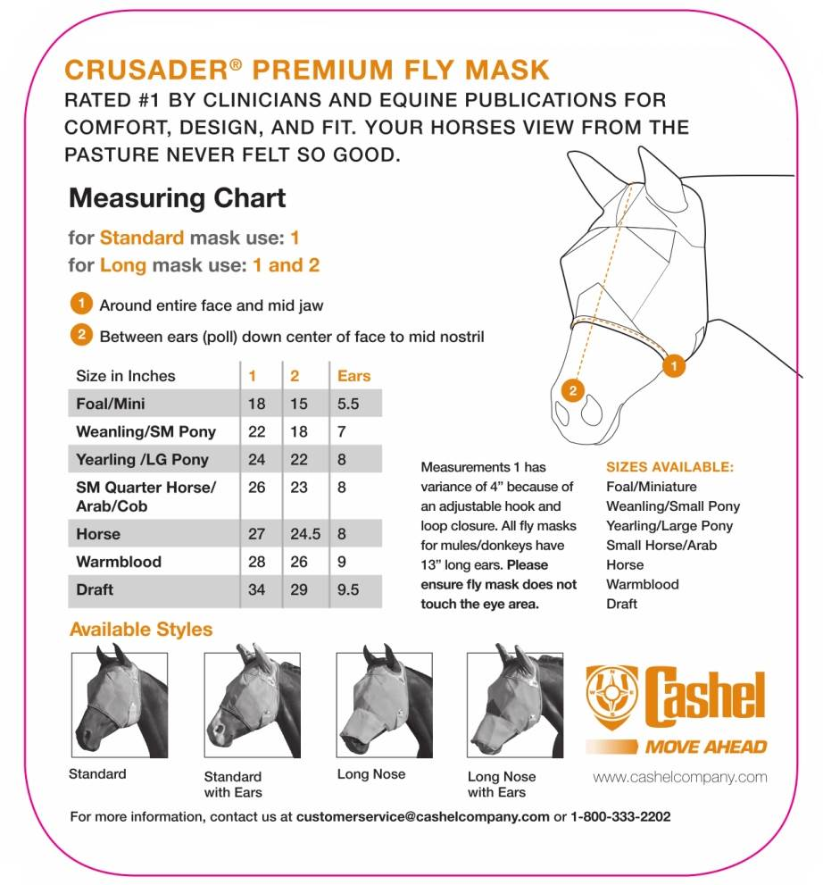 Cashel Fly Mask