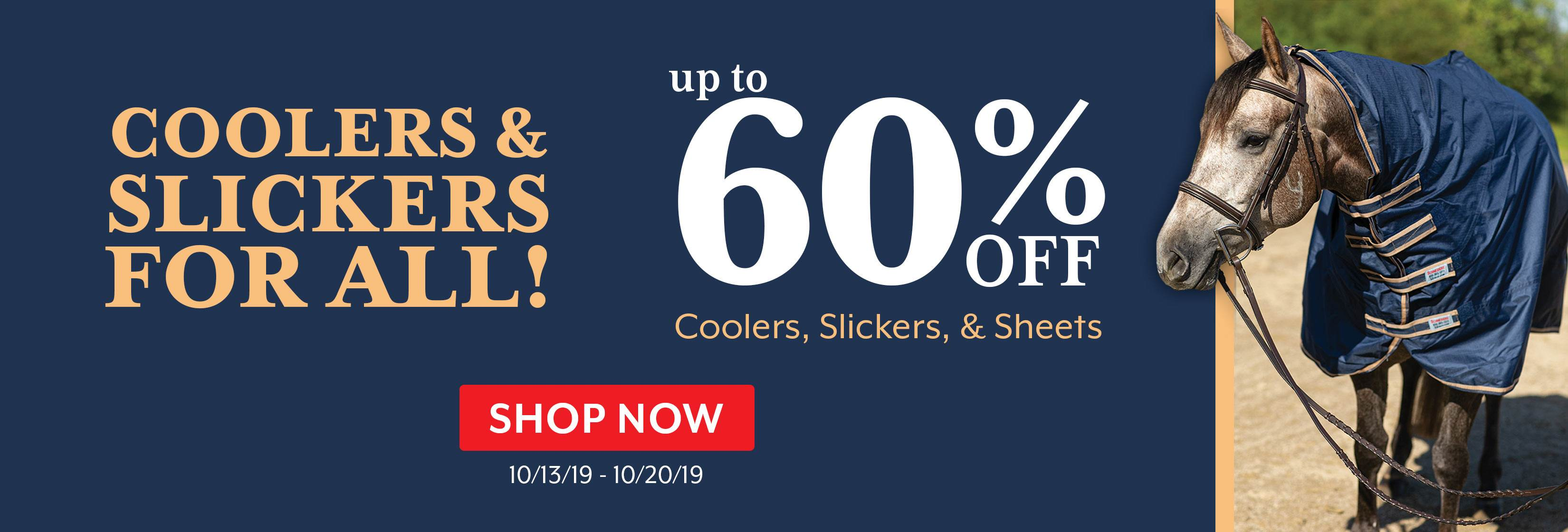 Coolers and Slickers Sale 101319