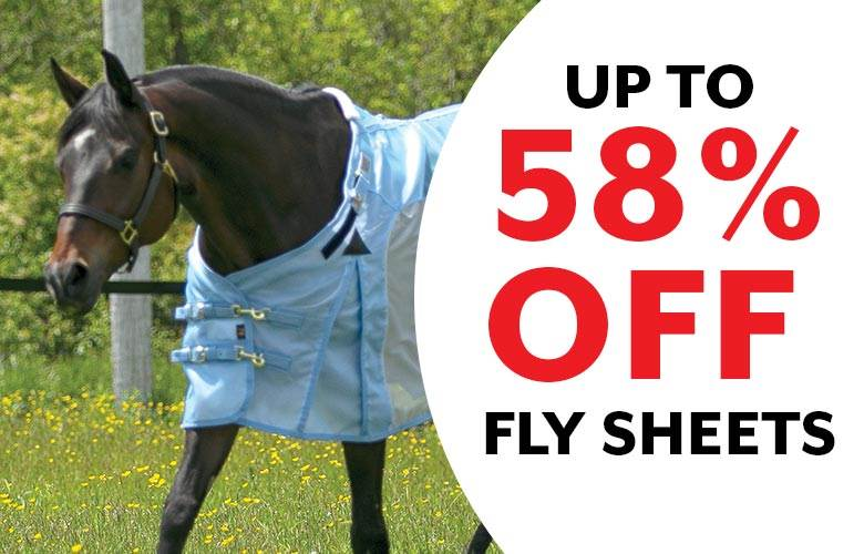 Fly Sheets & Fly Sheet Neck Covers for Horses - Schneiders