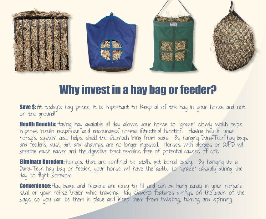 Why Invest in a Hay Bag or Hay Feeder?