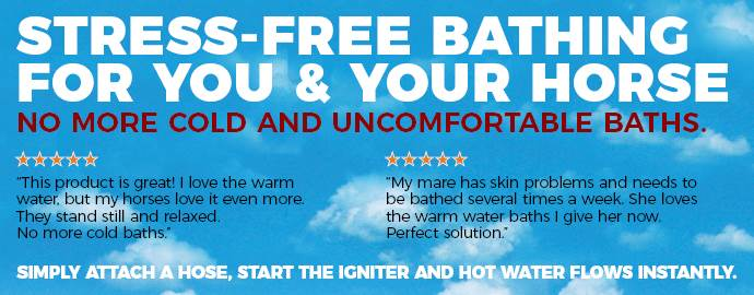 Insta-Hot Equine Washing System - Unlimited Hot Water in Seconds!