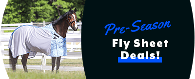Pre-Season Fly Sheet Sale