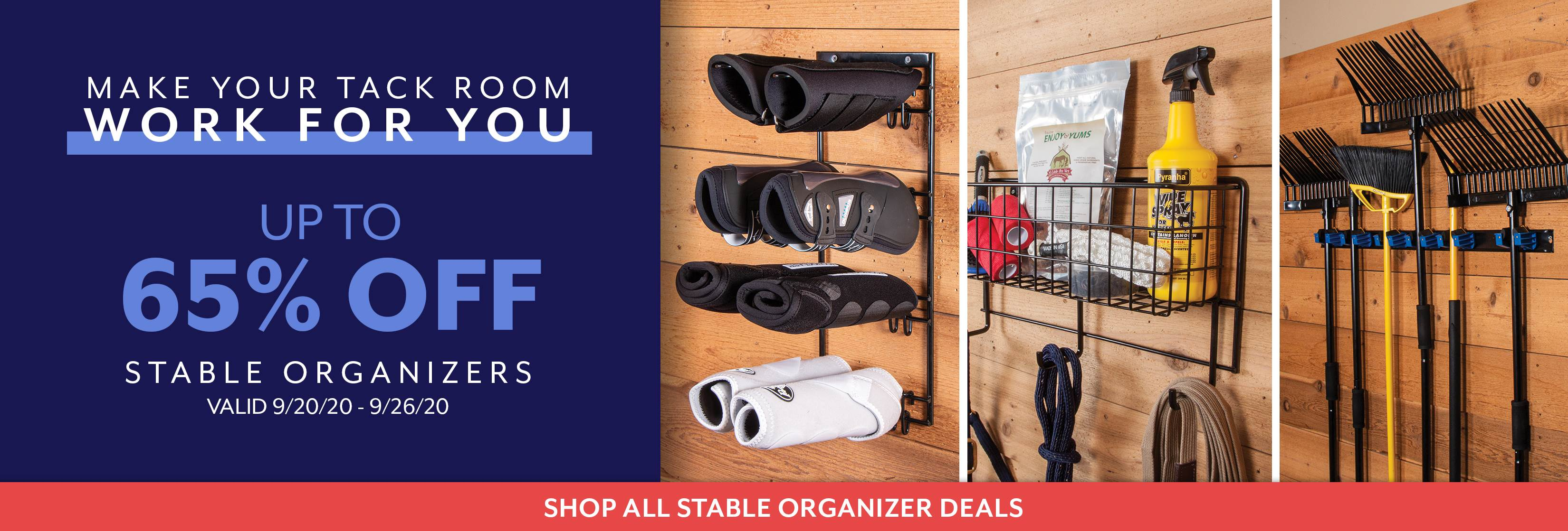 Stable Organizers Sale 092120