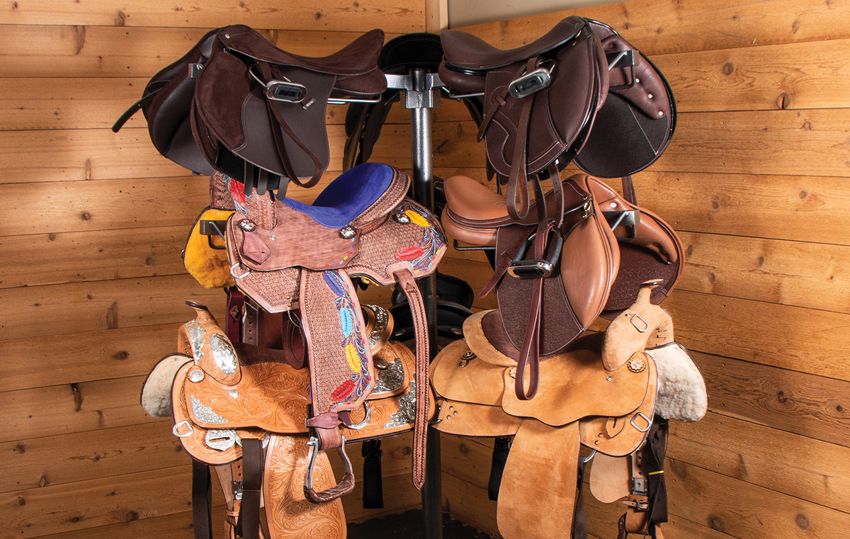Stable Ideas: De-Clutter your Stable with Tack & Grooming Organizers