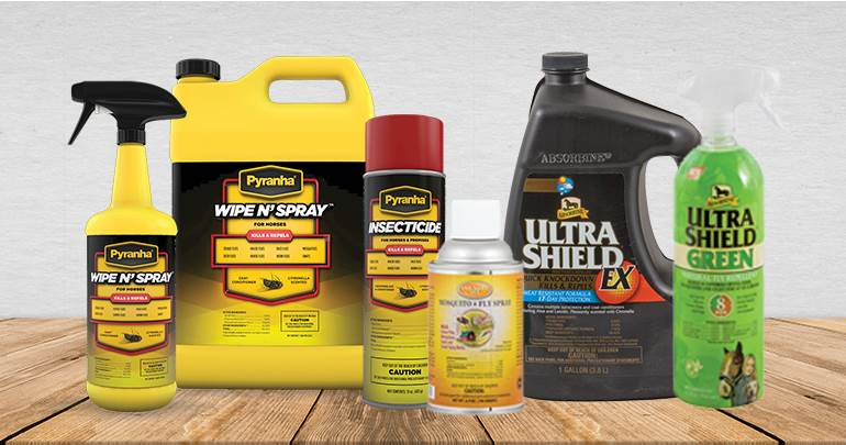 Horse Fly Sprays and Repellents