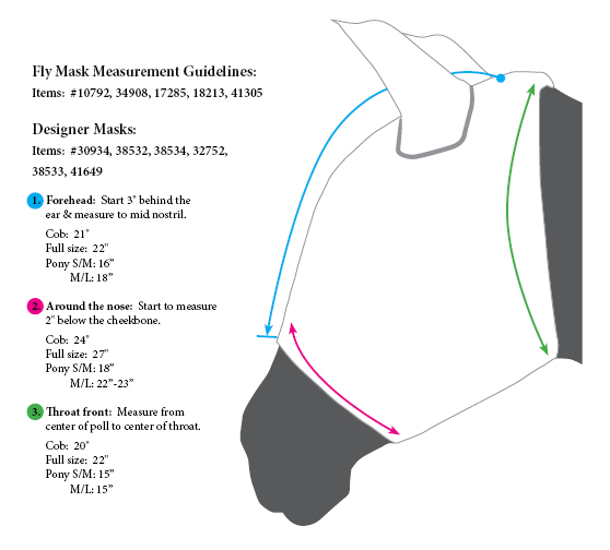 Dura-Tech® Fly Masks