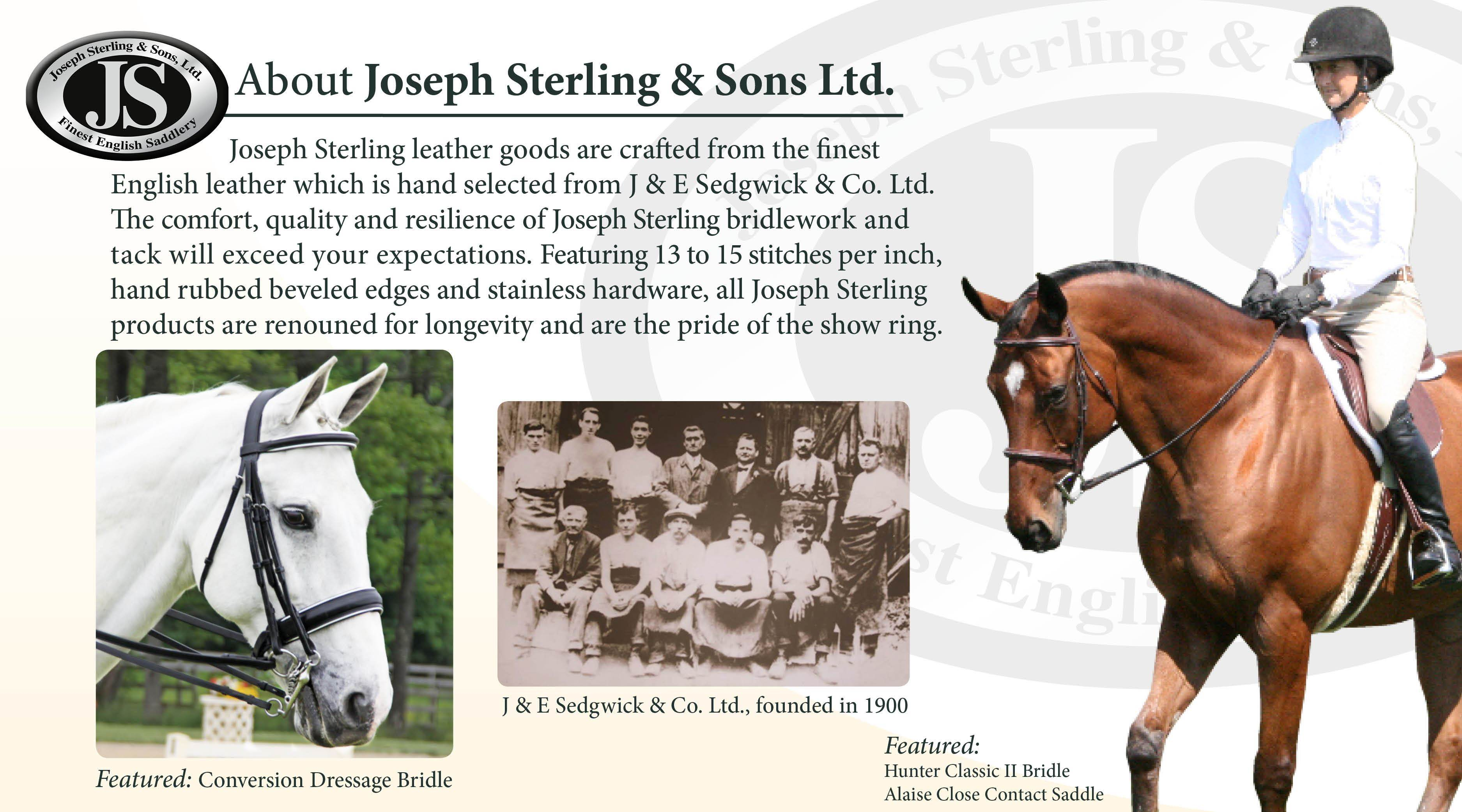 Joseph Sterling® About the Brand