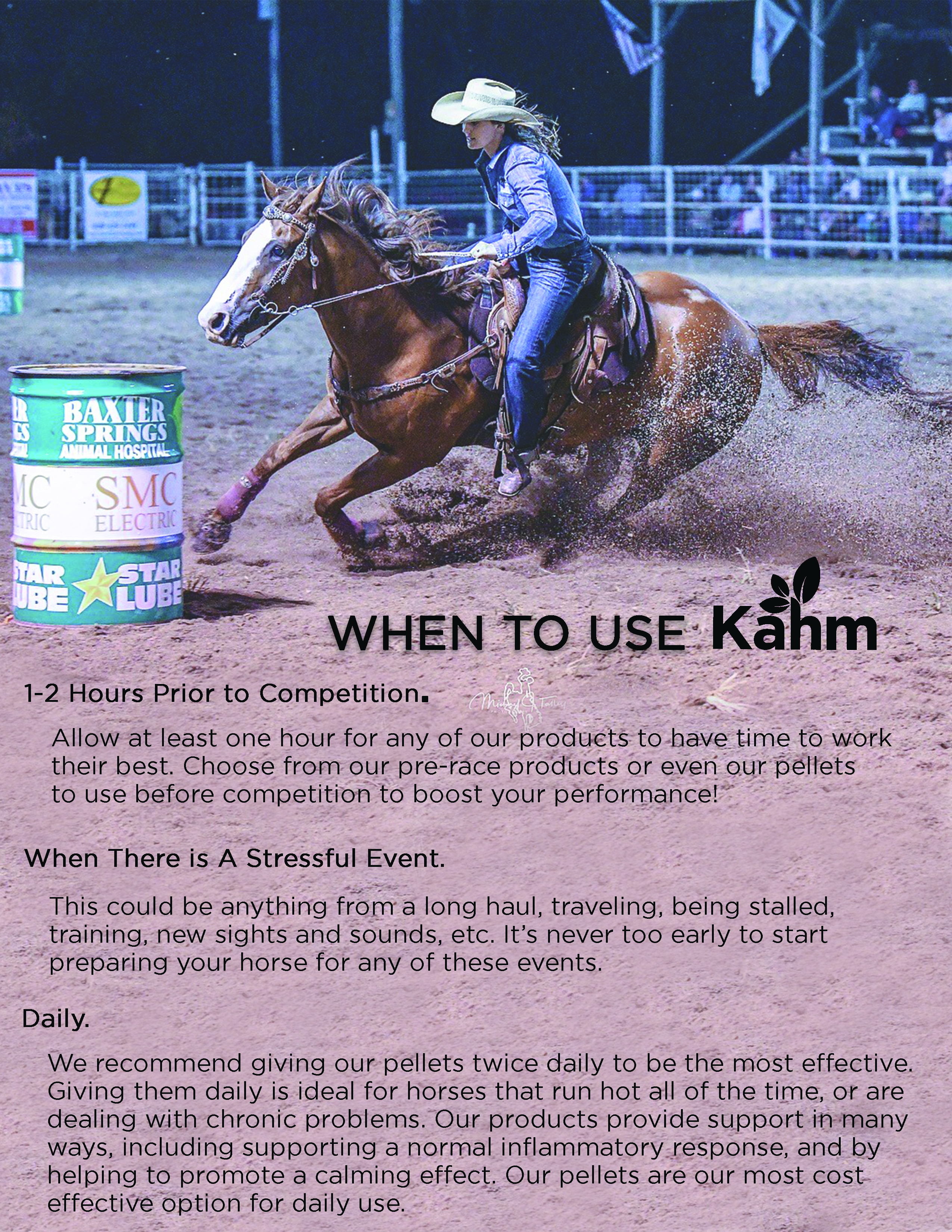 When to Use Kahm