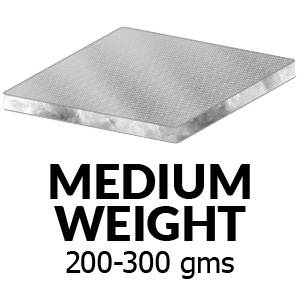 Medium Weight (200-300 grams)