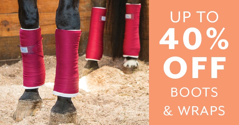 Day 3 - up to 40% off Boots & WrapsFeatued Category