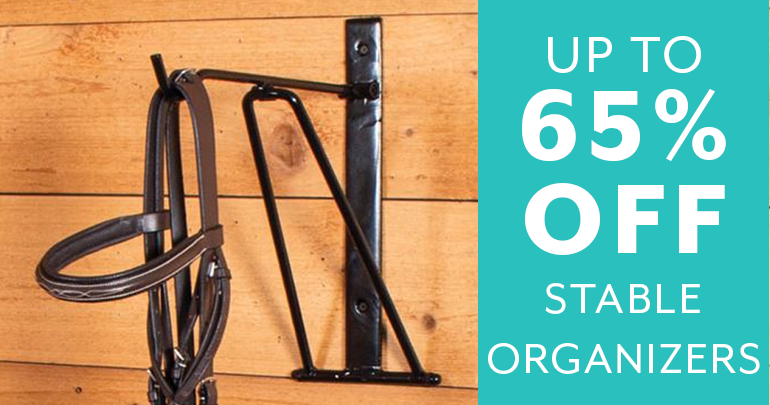 Day 5 - up to 65% off Stable OrganizersFeatued Category