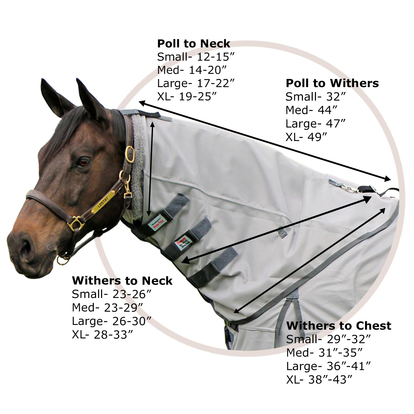 Neck Cover Size Chart