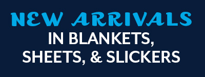 New Blanket Arrivals