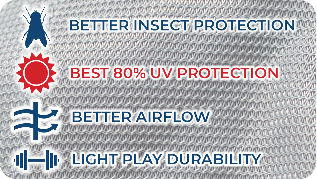About the Brand-About Soft Interlock Mesh Fly Sheets