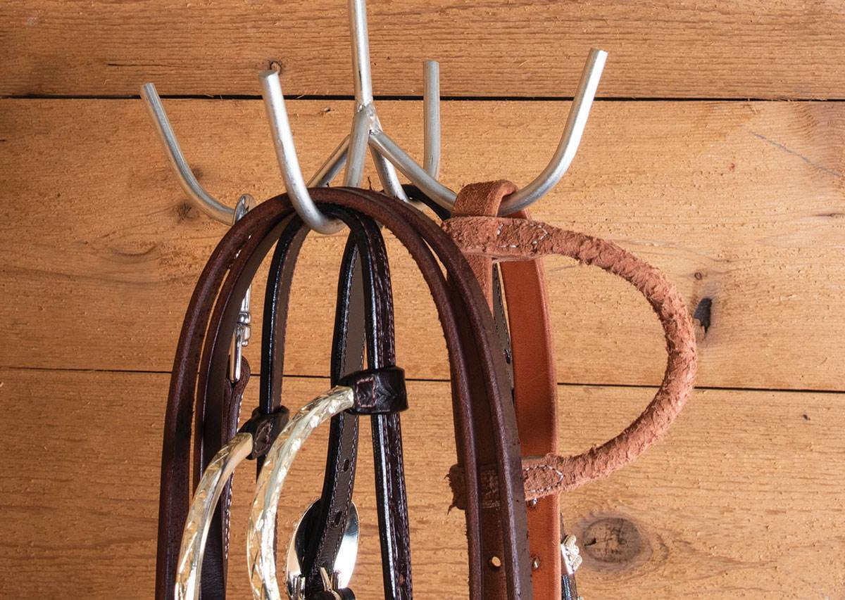 Tack Rooms: Basic Tack Room Needs - How to Properly Store Your Tack - Hook Hangers
