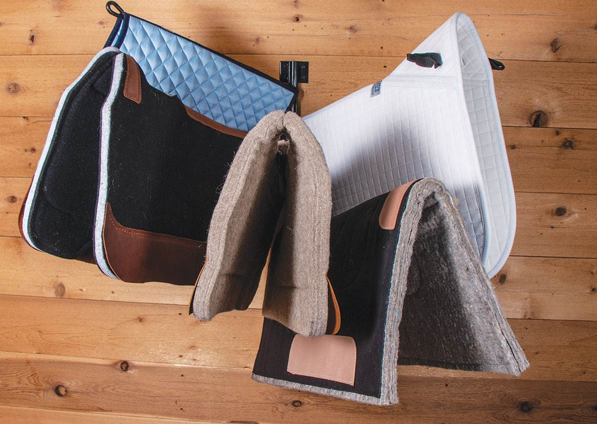 Tack Rooms: Basic Tack Room Needs - How to Properly Store Your Tack - Saddle Pads