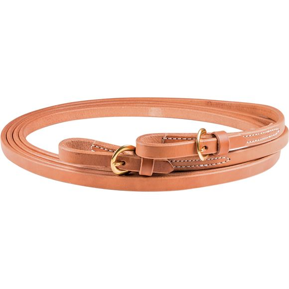 Billy Royal® Harness Leather Reins with Buckle Ends 5/8""