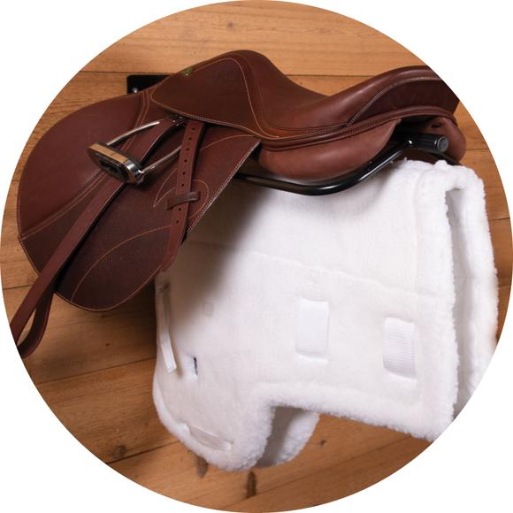 Keeps Your Saddle and Pad Organized and Clean!
