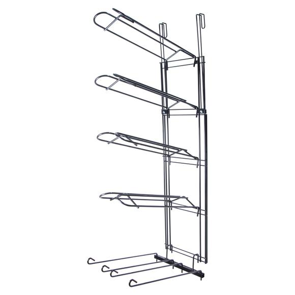 Easy-Up® 5 Tier Main Frame with 4 Saddle Racks & Swing Arm Rack
