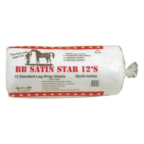 BB Satin Star Cotton Leg Wrap Sheets