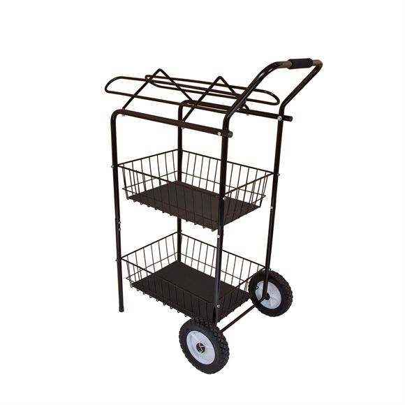 Easy-Up® Show Cart with Saddle Rack