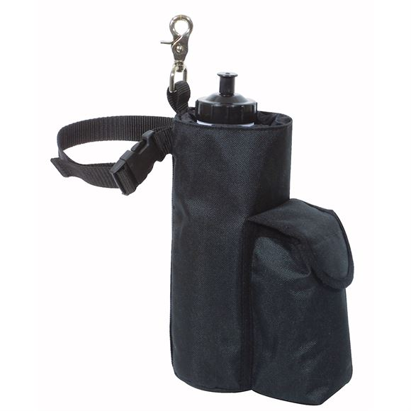 Dura-Tech® Single Water Bottle Holder with Side Pocket