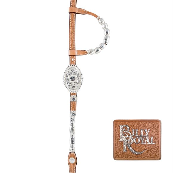 Billy Royal® Congress Classic Two Ear Headstall