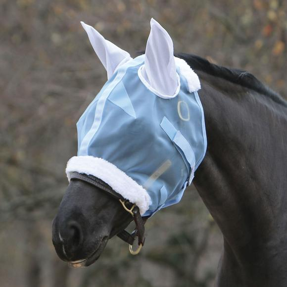 Mosquito Mesh Fly Mask with Ears