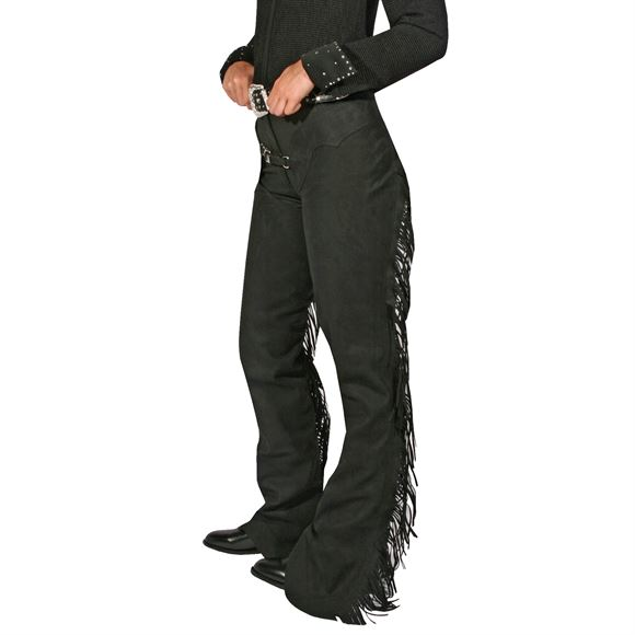Schneiders Washable Suede Horse Show Western Chaps