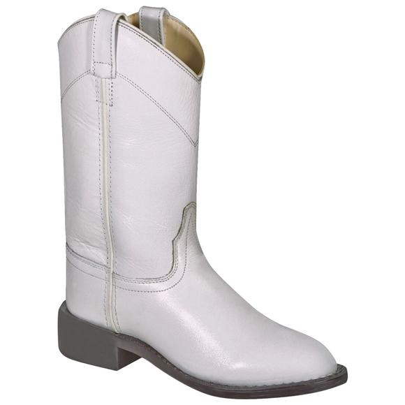 Old West Youth Dyeable Roper White
