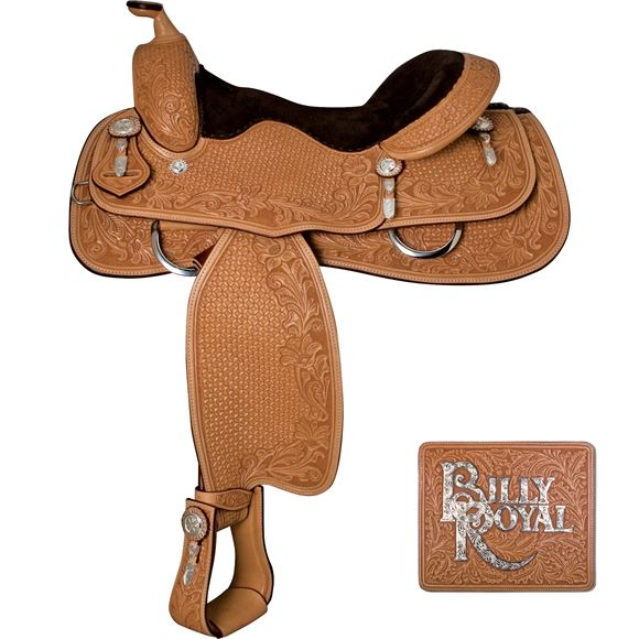 Billy Royal® Rowel Reiner Saddle