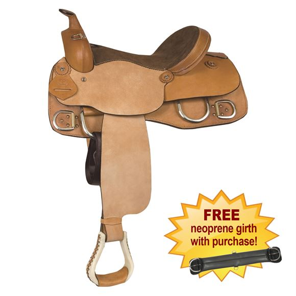 Lami-Cell All Leather Training Saddle