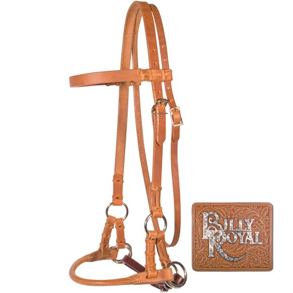Billy Royal® Rolled Nose Leather Side Pull