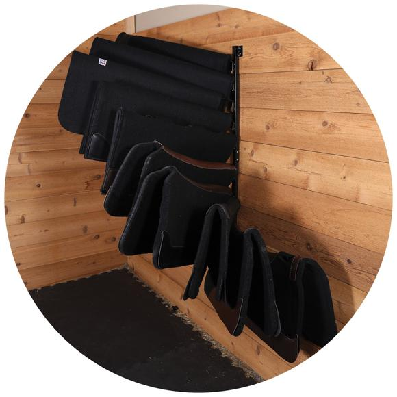 Dries Saddle Pads Quickly