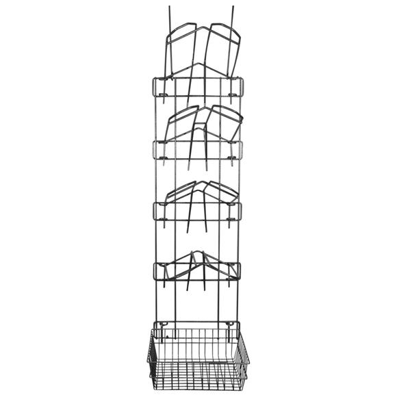 Easy-Up® Pro 5 Tier Interchangeable System with 4 Saddle Racks & Basket