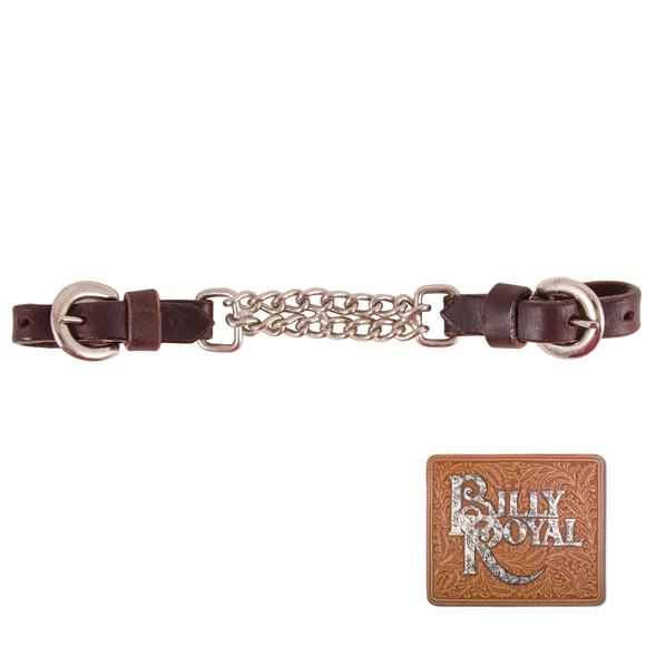 Billy Royal® Double Link Dark Oil Curb Chain