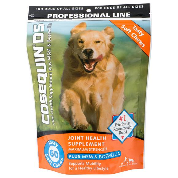 Cosequin DS Soft Chews + MSM For Dogs