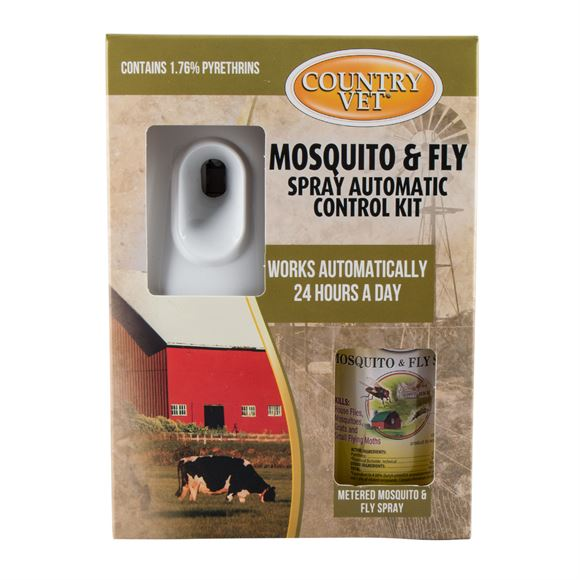 Country Vet Mosquito & Fly Control Kit