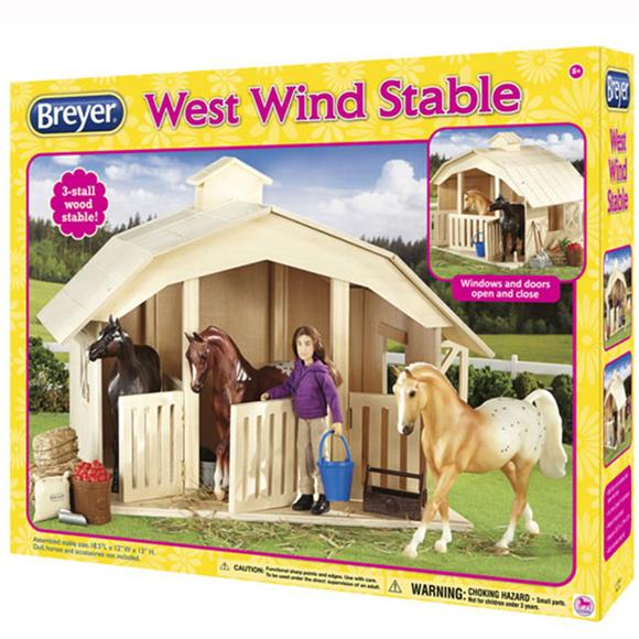 Breyer West Wind Stable