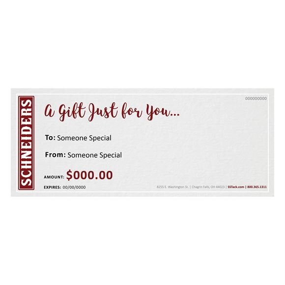 Gift Certificate (Electronic)