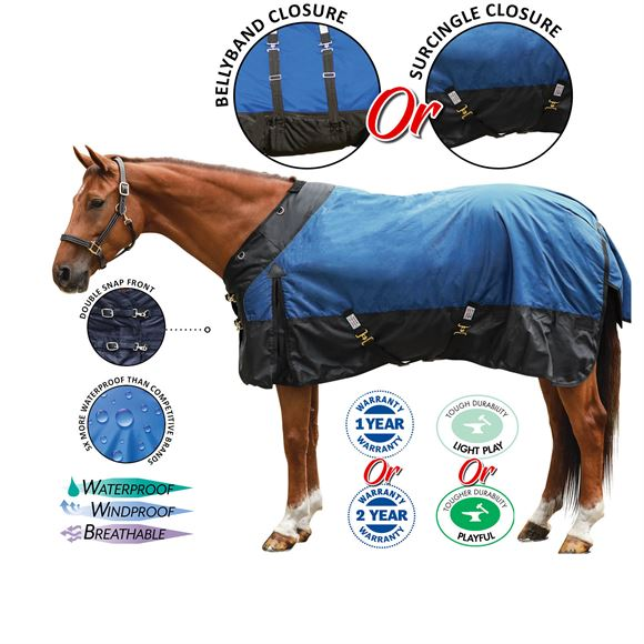 StormShield® Contour Collar Turnout Blankets