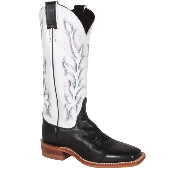 Justin Ladies Bent Rail® Albany Black Western Boots