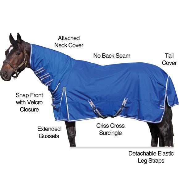 StormShield® Arctic Combo Turnout Blanket - Midweight