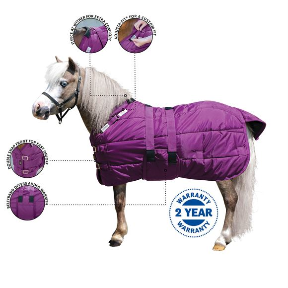 Adjusta-Fit® Dura-Nylon® Open Front Miniature Stable Blanket