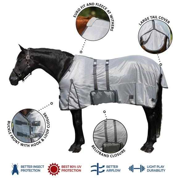 Interlock Mesh Bellyband Fly Sheet
